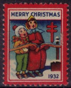 US BOB stamp lot #45 1932 christmas seal