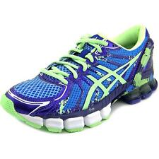 ASICS GEL Sendai 2 Wo Womens Blue Mesh Athletic Lace up Running Shoes 7