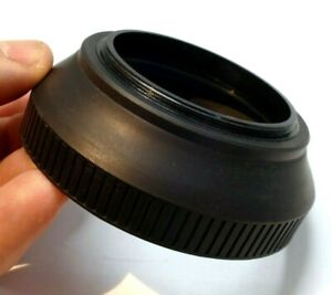 55mm Rubber Lens Hood Shade screw in Telephoto 135mm f2.8 f3.5