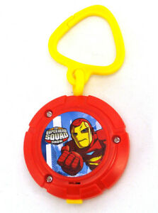 Marvel Burger King Exclusive Super Hero Squad Iron Man Light-Up Clip-On 2009
