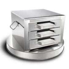 3 Layer Steamer Kitchen Food Steaming Machine Stainless Steel Spare Drawer