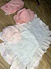 Lambs & Ivy & Redi Calliope 4 Fitted Crib Sheet 2 Cradle & Dust Ruffle 7 Pc