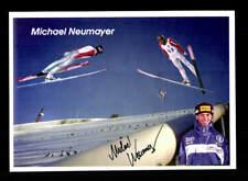 Michael Neumayer autografiada mapa original firmado esquí + a 168233
