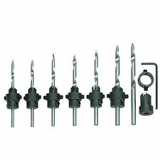Toolzone 22pc Tapered Countersink Drill Bits