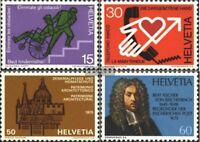 Schweiz 1058-1061 (kompl.Ausg.) gestempelt 1975 Jahresereignisse