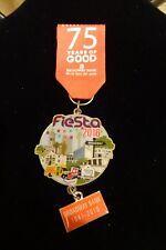 2016 San Antonio Broadway Bank Fiesta Medal