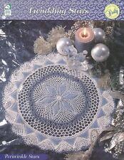 Periwinkle Stars Doily Crochet Pattern - Twinkling Stars Doilies Howb Series