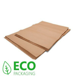 Natural Light Brown Tissue Paper Gift Wrap Wrapping Paper 20 Sheets Recycled