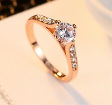 Women S Rings Stainless Steel Ring Wedding Engagement For Lady Elegant