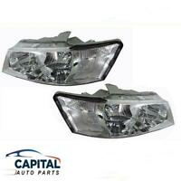 Pair of Chrome Headlights suits Holden Commodore VZ EXECUTIVE/ACCLAIM 04-07