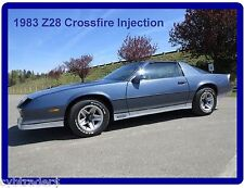 1983 Camaro Z28 Crossfire Injection  Refrigerator /  Tool Box  Magnet