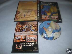 RENE LALOUX'S FANTASTIC PLANET DVD ANCHOR BAY