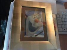 Up cycled Disney Frozen Olaf Framed Picture