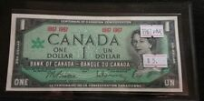 Canada 1967 $1 Dollar UNC. 1867-1967 Confederation Commemorative Banknote