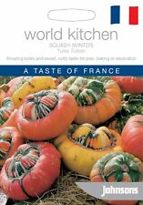 Johnsons World Vegetable Pictorial Pack Squash (Winter) Turks Turban - 20 Seeds