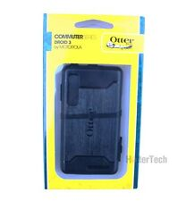 New in Box Black Otterbox Commuter Hybrid Case Cover For Motorola Droid 3