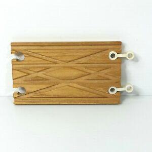 Wooden Railway Unique track piece 4-way fits Thomas / Brio / other Wooden Railw