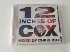 12 INCHES OF COX - CHRIS COX **PROMO CD 2002** EMI-Capitol Entertainment *RARE