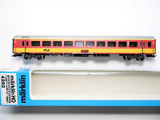 NS Intercity Personenwagen passenger car #1+2, Märklin Marklin #4262 1:87 H0 box