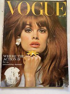 VOGUE Magazine 1965 June Jean Shrimpton COMPLIMENTARY GIFT WRAP Fast Dispatch