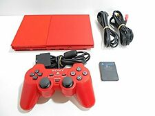 Playstation 2 RED Console PS2 Red System SLIM Japan *LOOSE - GOOD CONDITION*