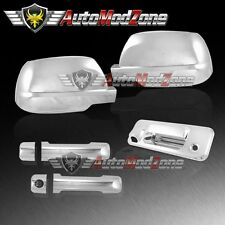 14-17 Toyota Tundra Chrome 2 Door Handle Cover + Tailgate + Full Mirror Covers