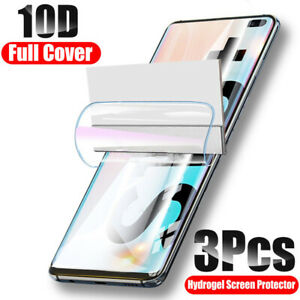 For Samsung Galaxy Note 20 S20 Ultra S10 S20 Plus Hydrogel Film Screen Protector
