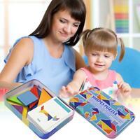 Magic Holz Variable Puzzle Tangram Gehirn Teaser Kid Lernspiel Puzzle Spielzeug