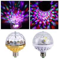 Disco Ball Lamp RGB Rotating LED Party Light Bulb A2N1