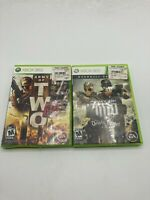 Microsoft Xbox 360 Tested Lot Army of Two Devil's Cartel The 40th Day LOT