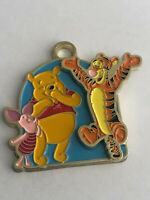 Vintage Walt Disney Winnie Pooh Metal Key Chain Piglet Moving Tigger PCF Metal