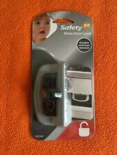 New Safety 1st Appliance Oven Decor Door Lock (Gray) - Durable & Heat Resistant