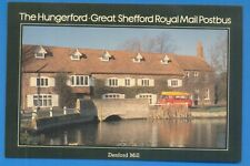 THE HUNGERFORD-GREAT SHEFFORD ROYAL MAIL POSTBUS.DENFORD MILL.POSTCARD