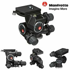 Manfrotto 410 Junior Geared Head - Supports 11lbs (5kg). Included QR. Plate
