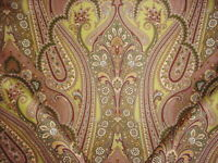 2-3/4Y Scalamandre SC 000416363 O'Marra Pea Taupe Gold Paisley Upholstery Fabric