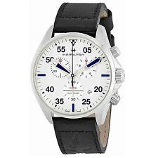 Reloj de Cuarzo Hamilton H76712751 Hombre Plata de piloto de color caqui