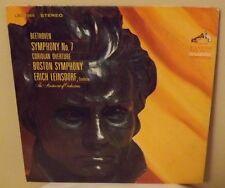 Erich Leinsdorf Boston SO Beethoven Symphony No 7 Coriolan Overture LP