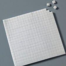 2000 almohadillas de espuma adhesivas. (5 hojas de 400)