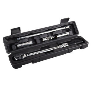 """3/8"""" Drive Click Torque Wrench Set 5-60 Nm Professional with Storage Box"""