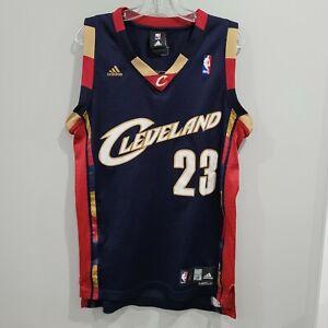 VTG Reebok NBA Cleveland Cavaliers LeBron James 23 Alternate Jersey Mens S Sewn