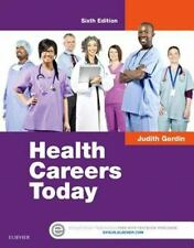 HEALTH CAREERS TODAY - GERDIN, JUDITH - NEW HARDCOVER BOOK