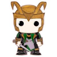 IN STOCK! Marvel LOKI Large Enamel Pop! Pin by Funko