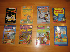 Lot of 8 Children's Pic Books Halloween/Ghost stories Scooby-Doo!, Little Witch
