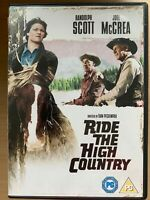 Ride The High Country DVD 1962 Classico Peckinpah Western W/Randolph Scott