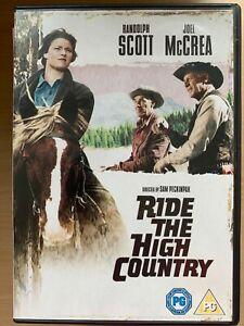 Ride the High Country DVD 1962 Classic Peckinpah Western Movie w/ Randolph Scott