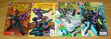 Catwoman/Wildcat #1-4 Vf/Nm complete series - chuck dixon - dc comics 2 3 set
