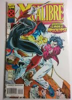 X-Calibre ISSUE 2 1995 JUNE AGE OF APOCALYPSE NIGHTCRAWLER MARVEL X-MEN STAN LEE