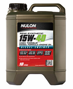 Nulon Semi Synthetic High Torque Diesel Engine Oil 15W-40 10L SSD15W40-10