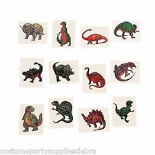 Dinosaur Tattoos   36 PACK   Party Favours   Party Loot Bag Supplies
