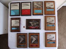 VTG Bill Northrop Model Builder Magazine Flying Wing Contest Trophy/Award Plaque